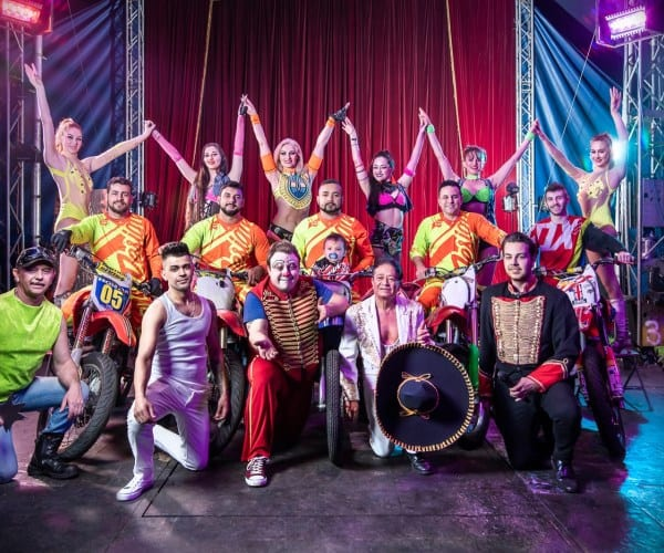 Photograph of Planet Circus Performers